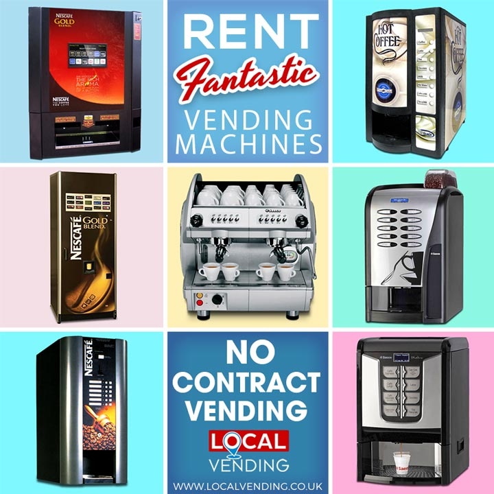 Rent vending machines