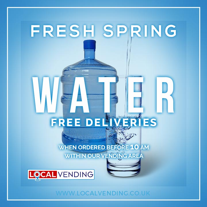 Free delivery spring water